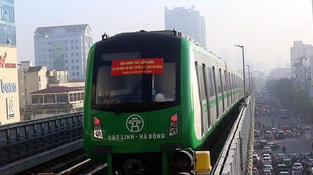 Hà Nội dự kiến chi hơn 14 tỷ đồng trợ giá đường sắt Cát Linh - Hà Đông mỗi năm