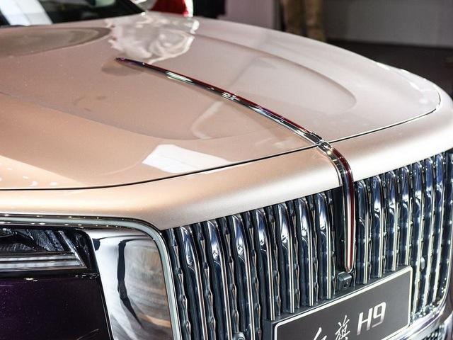Xe sang Trung Quốc Hongqi H9 nhảy thiết kế Cadillac, Rolls-Royce và Maybach để đấu Mercedes-Benz E-Class - Ảnh 4.