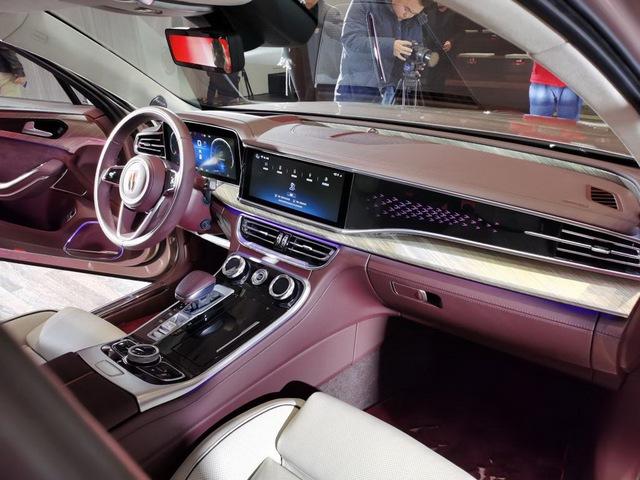 Xe sang Trung Quốc Hongqi H9 nhảy thiết kế Cadillac, Rolls-Royce và Maybach để đấu Mercedes-Benz E-Class - Ảnh 6.