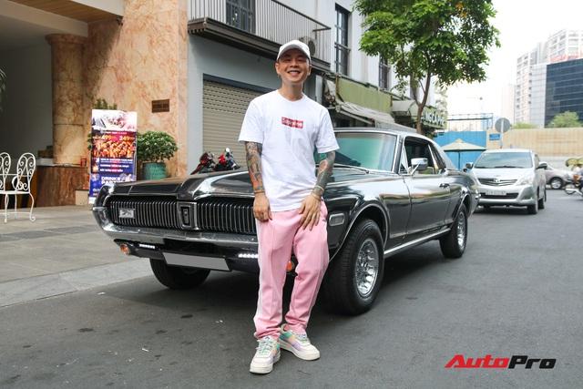 Bắt gặp xế cổ tiền tỷ của rapper Binz với diện mạo mới cực độc - Ảnh 9.