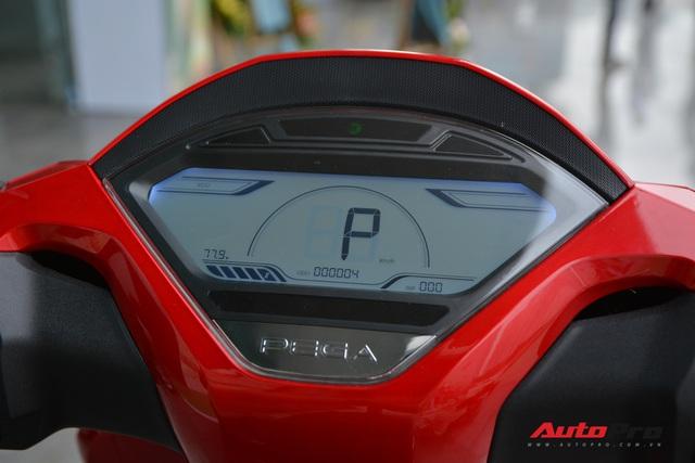 Chi tiết PEGA eSH - Bản nhái táo bạo mạnh miệng 'chiến' với cả ông hoàng xe tay ga Honda SH - Ảnh 7.