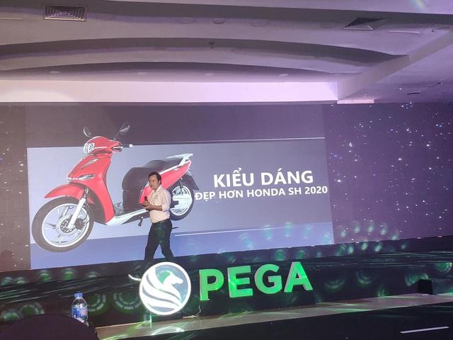 Nhiều người bất bình về màn dìm hàng Honda SH 2020 của CEO PEGA: Đã nhái còn đi so với chính hiệu - Ảnh 1.