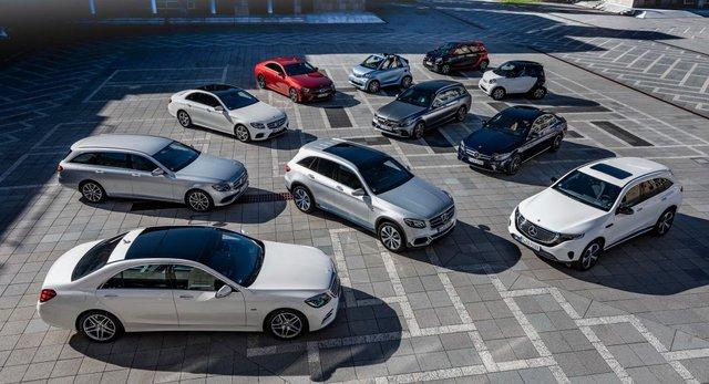 Mercedes-Benz vẫn bán chạy nhất toàn cầu dù thua BMW ở Bắc Mỹ - Ảnh 1.