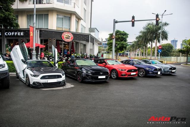 Đại gia Việt mang dàn Ford Mustang chục tỷ đọ dáng cùng xe thể thao Đức