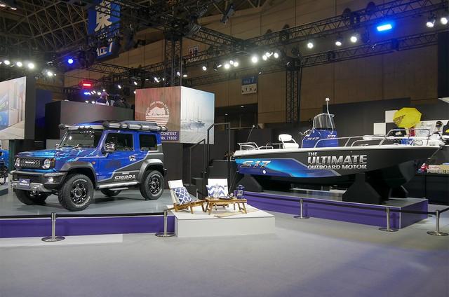 Suzuki tung Jimny đặc biệt siêu hầm hố, nhà di động với trần xe cảm hứng từ Rolls-Royce - Ảnh 1.