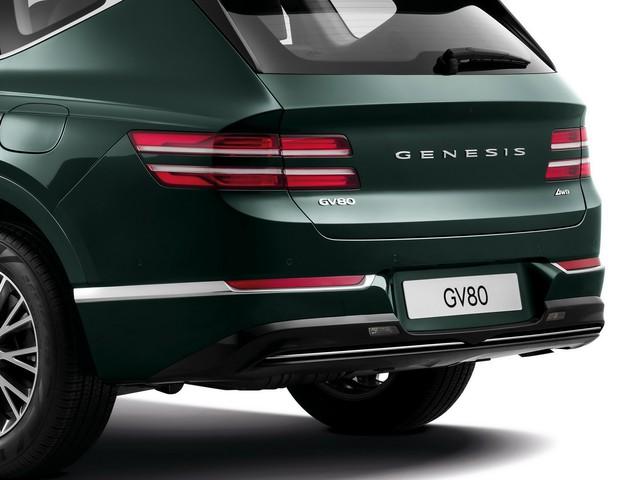 Ra mắt Genesis GV80 - Xe Hàn Quốc giờ đã quá sang xịn, đủ sức đấu BMW X5 - Ảnh 4.