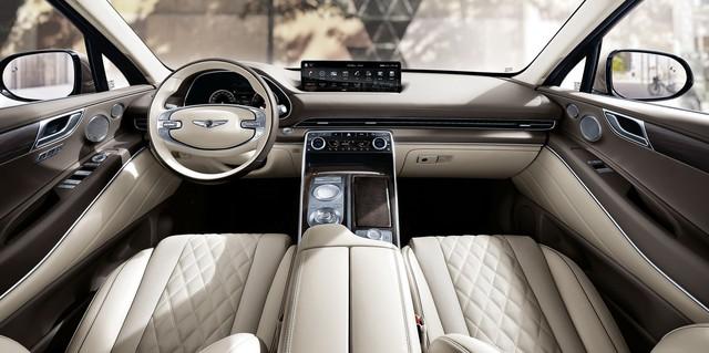 Ra mắt Genesis GV80 - Xe Hàn Quốc giờ đã quá sang xịn, đủ sức đấu BMW X5 - Ảnh 5.