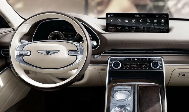 Ra mắt Genesis GV80 - Xe Hàn Quốc giờ đã quá sang xịn, đủ sức đấu BMW X5 - Ảnh 6.