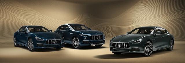 Maserati tung series hoàng gia cho Quattroporte, Levante và Ghibli - Ảnh 1.