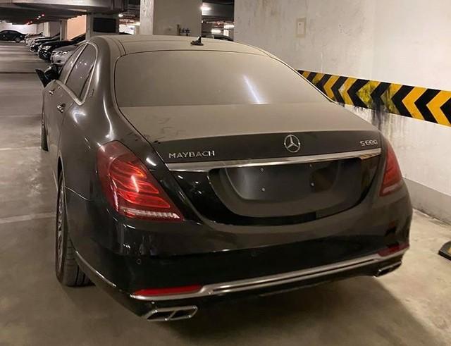 Xót xa Mercedes-Maybach S600 14 tỷ phủ bụi ở Hà Nội - Ảnh 3.