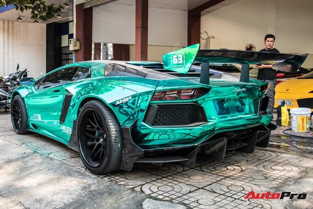 Cận Tết Nguyên Đán, đại gia Vũng Tàu chia tay siêu phẩm Lamborghini Aventador độ Liberty Walk phiên bản giới hạn - Ảnh 2.