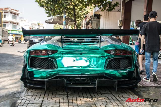 Cận Tết Nguyên Đán, đại gia Vũng Tàu chia tay siêu phẩm Lamborghini Aventador độ Liberty Walk phiên bản giới hạn - Ảnh 3.