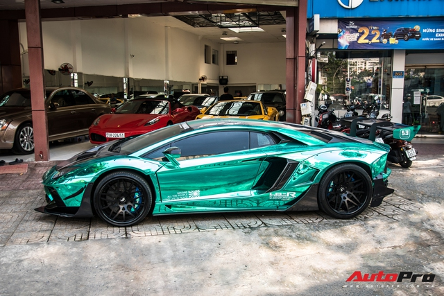 Cận Tết Nguyên Đán, đại gia Vũng Tàu chia tay siêu phẩm Lamborghini Aventador độ Liberty Walk phiên bản giới hạn - Ảnh 5.