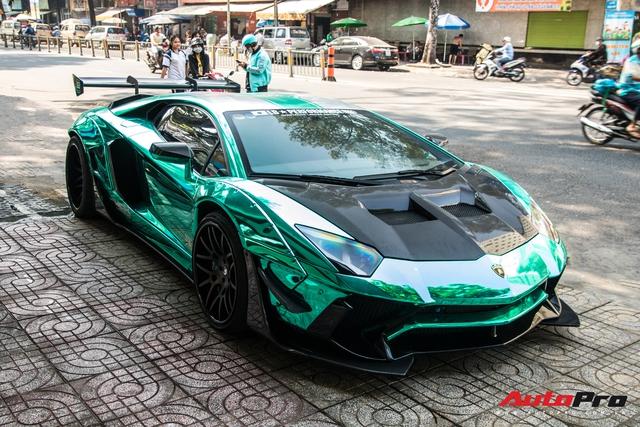 Cận Tết Nguyên Đán, đại gia Vũng Tàu chia tay siêu phẩm Lamborghini Aventador độ Liberty Walk phiên bản giới hạn - Ảnh 6.