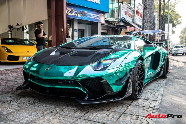 Cận Tết Nguyên Đán, đại gia Vũng Tàu chia tay siêu phẩm Lamborghini Aventador độ Liberty Walk phiên bản giới hạn - Ảnh 7.