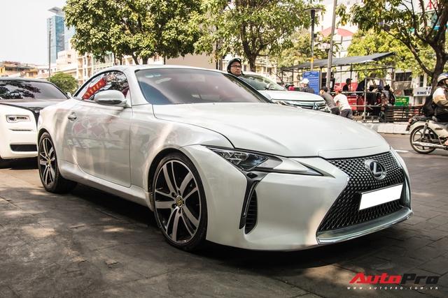 Nhờ một thay đổi nhỏ, Lexus mui trần hết thời biến hình thành LC500 cực bắt mắt - Ảnh 3.