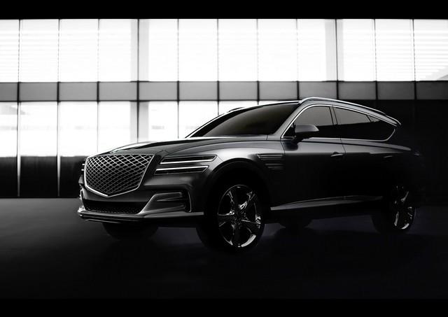 SUV sang Hàn Quốc đấu Mercedes-Benz GLE, BMW X5 lộ hàng ngay trước ngày ra mắt - Ảnh 2.