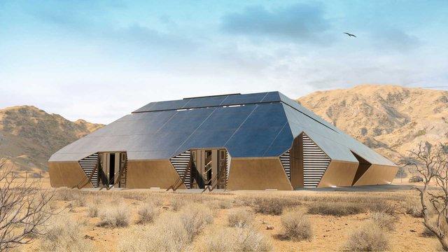 Cyberhouse - Biệt thự sinh ra để dành cho chủ xe Tesla Cybertruck, giá hơn 20 tỷ đồng - Ảnh 4.
