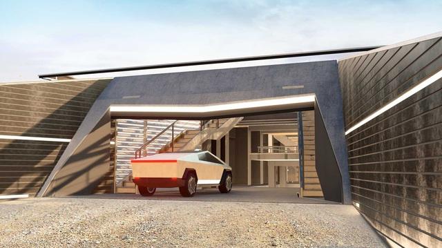 Cyberhouse - Biệt thự sinh ra để dành cho chủ xe Tesla Cybertruck, giá hơn 20 tỷ đồng