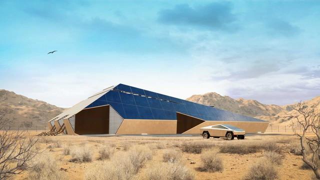Cyberhouse - Biệt thự sinh ra để dành cho chủ xe Tesla Cybertruck, giá hơn 20 tỷ đồng - Ảnh 3.