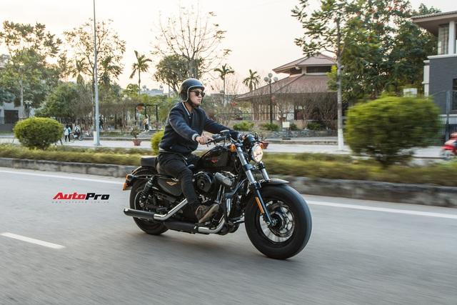Đánh giá Harley 48 giá nửa tỷ đồng: Dễ hiểu vì sao chủ xe quay ngoắt với Triumph Bonneville T120 trước đó và hài lòng với chiếc xe này - Ảnh 14.
