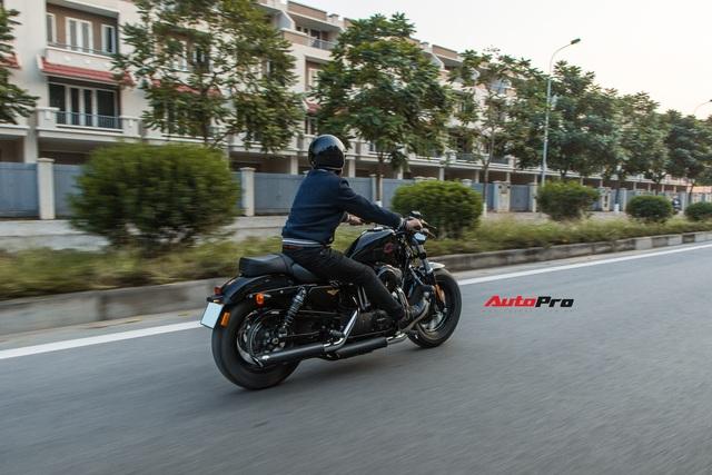 Đánh giá Harley 48 giá nửa tỷ đồng: Dễ hiểu vì sao chủ xe quay ngoắt với Triumph Bonneville T120 trước đó và hài lòng với chiếc xe này - Ảnh 15.