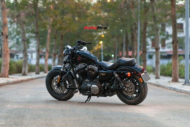 Đánh giá Harley 48 giá nửa tỷ đồng: Dễ hiểu vì sao chủ xe quay ngoắt với Triumph Bonneville T120 trước đó và hài lòng với chiếc xe này - Ảnh 5.