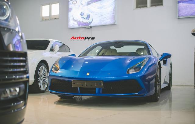 Ferrari 488 Spider thuộc sở hữu của đại gia Bình Phước đổi màu cực lạ - Ảnh 5.