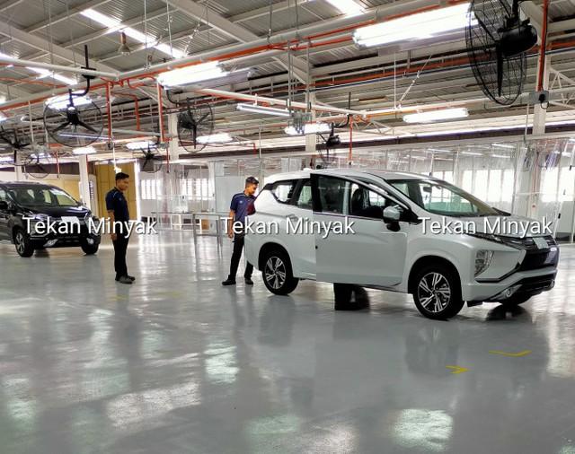 Mitsubishi Xpander phiên bản mới bất ngờ lộ diện tại nhà máy - Ảnh 2.