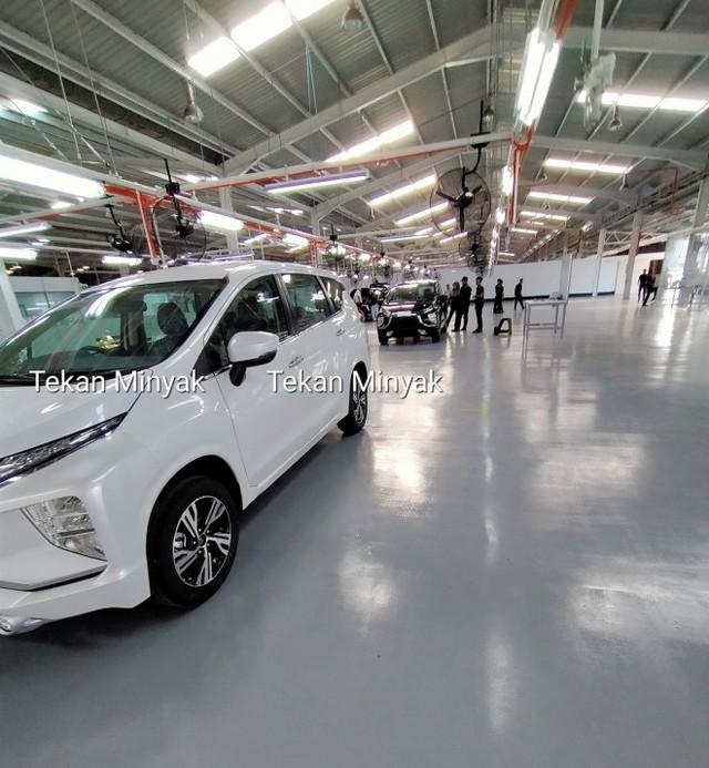 Mitsubishi Xpander phiên bản mới bất ngờ lộ diện tại nhà máy - Ảnh 3.