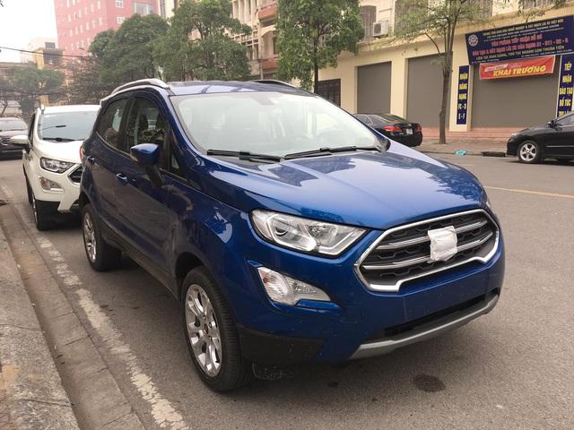 Lộ diện Ford EcoSport 2020 tại Việt Nam: Gỡ bỏ lốp dự phòng gây tranh cãi, thêm tính năng để đòi lại ngôi vương từ Hyundai Kona - Ảnh 1.