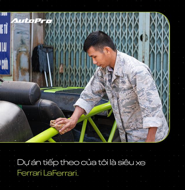 Chàng trai Tây Nguyên mơ làm siêu xe triệu đô Ferrari LaFerrari từ sắt vụn - Ảnh 2.