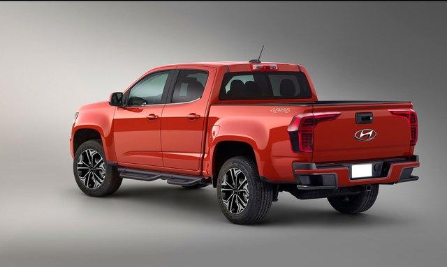Cạnh tranh Ford Ranger, xe bán tải Hyundai sẽ sử dụng động cơ như xe sang - Ảnh 2.
