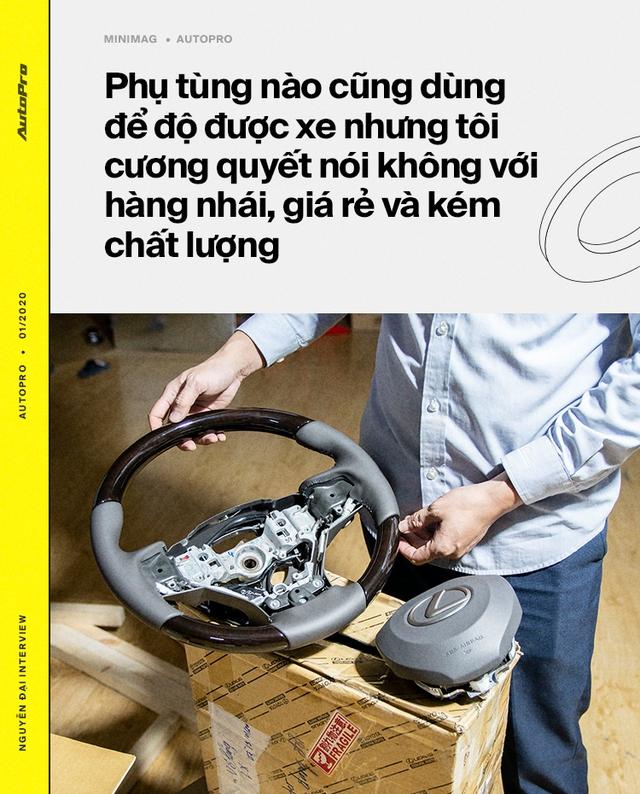 Từ lập trình viên thành 'phù thủy' hô biến lên đời hàng trăm xe sang tại Việt Nam: 'Lexus hay Rolls-Royce đều làm được, chỉ cần có tâm huyết và đam mê' - Ảnh 6.