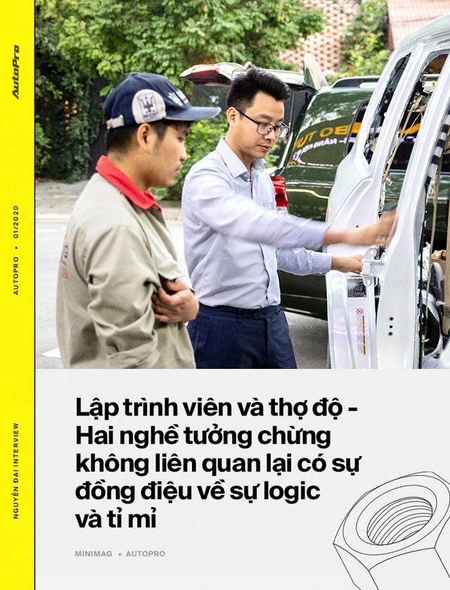 Từ lập trình viên thành 'phù thủy' hô biến lên đời hàng trăm xe sang tại Việt Nam: 'Lexus hay Rolls-Royce đều làm được, chỉ cần có tâm huyết và đam mê' - Ảnh 10.