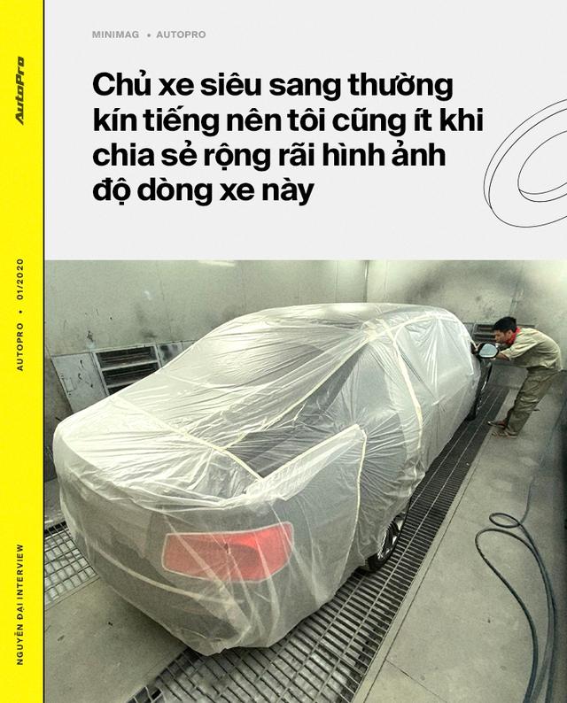 Từ lập trình viên thành 'phù thủy' hô biến lên đời hàng trăm xe sang tại Việt Nam: 'Lexus hay Rolls-Royce đều làm được, chỉ cần có tâm huyết và đam mê' - Ảnh 12.