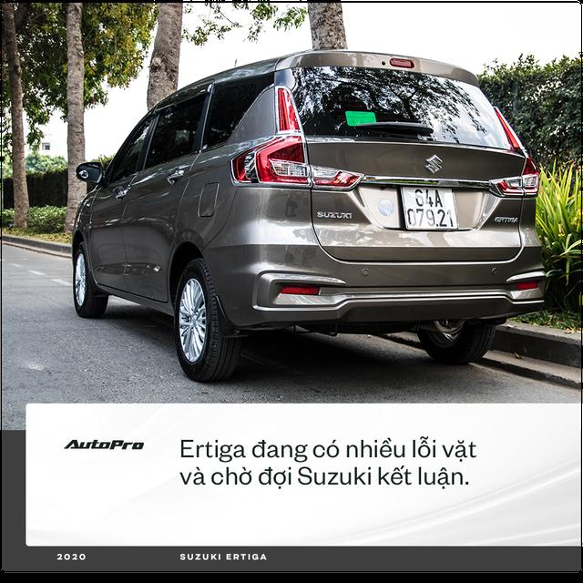 98 chọn Ertiga mà không phải Xpander hay Vios chạy dịch vụ: 'Có người bảo xe gì mà lạ vậy, chưa thấy trên đường mà đã mua' - Ảnh 4.