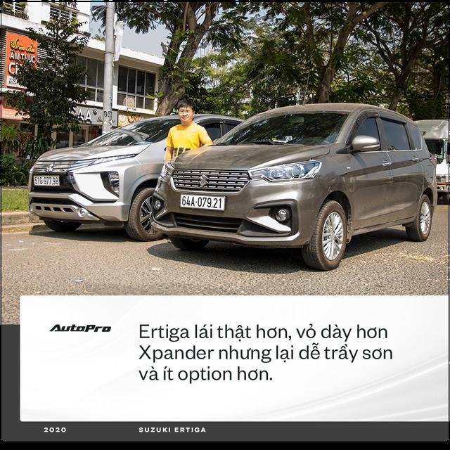 98 chọn Ertiga mà không phải Xpander hay Vios chạy dịch vụ: 'Có người bảo xe gì mà lạ vậy, chưa thấy trên đường mà đã mua' - Ảnh 6.