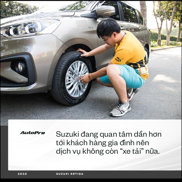 98 chọn Ertiga mà không phải Xpander hay Vios chạy dịch vụ: 'Có người bảo xe gì mà lạ vậy, chưa thấy trên đường mà đã mua' - Ảnh 8.