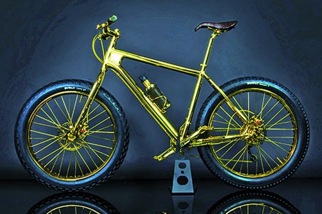 10 chiếc xe đạp có giá ngang ô tô hạng sang