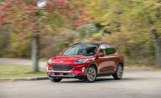 Đánh giá Ford Escape 2020 sắp bán tại Việt Nam: Thừa sức vươn lên Honda CR-V nếu giá tốt - Ảnh 1.