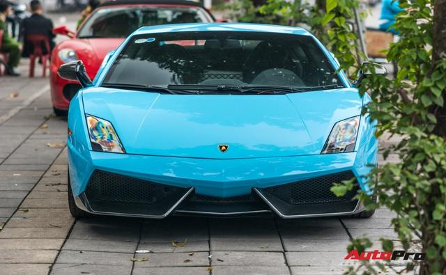 Chơi Tết, đại gia Hà Thành tiếp tục đổi màu Lamborghini Gallardo LP 570-4 Superleggera độc nhất Việt Nam  - Ảnh 3.