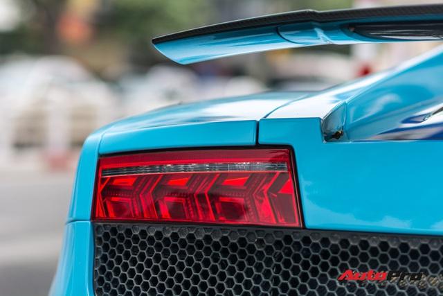 Chơi Tết, đại gia Hà Thành tiếp tục đổi màu Lamborghini Gallardo LP 570-4 Superleggera độc nhất Việt Nam  - Ảnh 10.