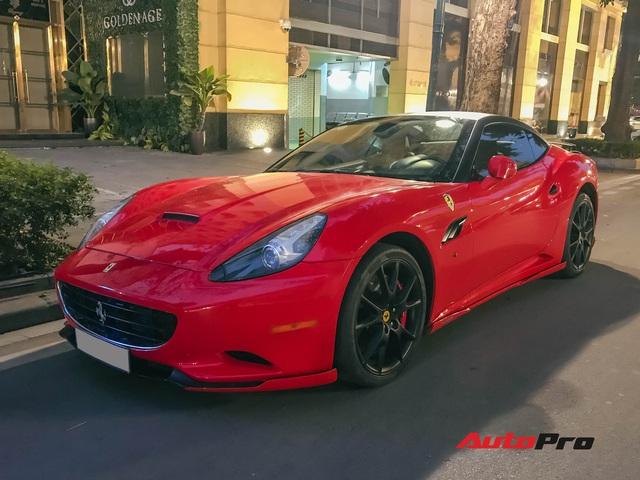 Ferrari California độ độc nhất Việt Nam bất ngờ ra phố đón Tết sau một thời gian dài ở ẩn - Ảnh 1.