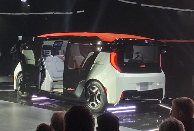 Hãng ô tô GM tiết lộ chiếc xe tự lái hoàn toàn, không có cả bánh lái và chân ga - Ảnh 1.