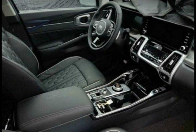 Kia Sorento mới lần đầu lộ diện trần trụi - Đối trọng lớn của Hyundai Santa Fe - Ảnh 4.