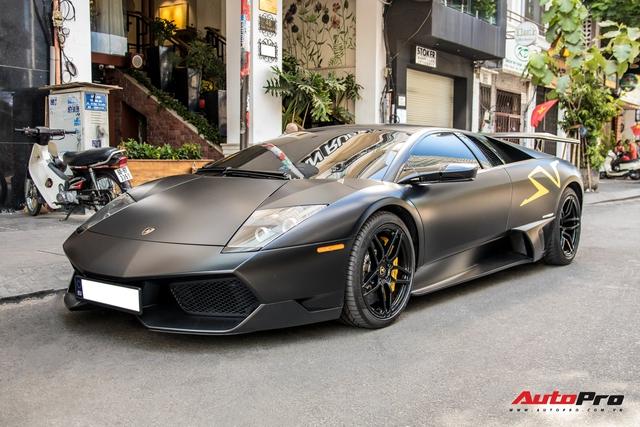 Lamborghini Murcielago SV độc nhất Việt Nam với lai lịch thú vị xuất hiện trên phố Sài Gòn dịp Tết - Ảnh 1.