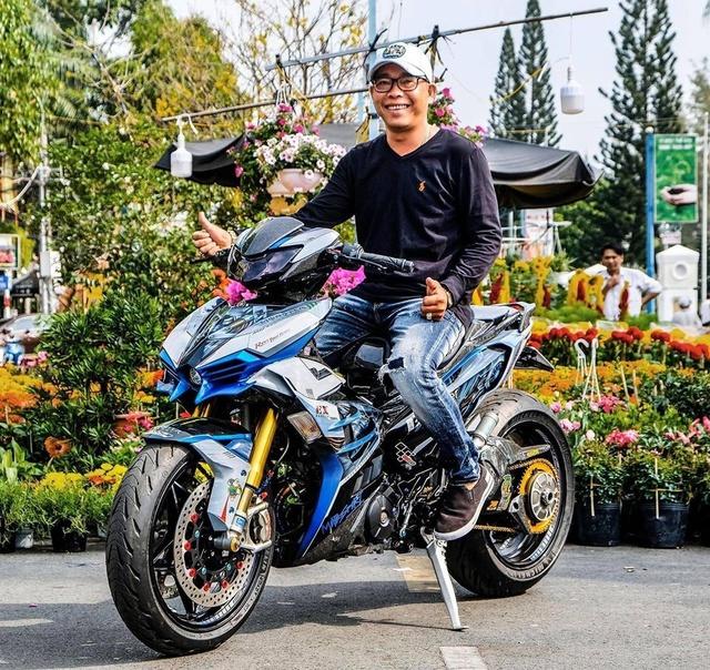 Dân chơi Cần Thơ chi 300 triệu lên đời Yamaha Exciter hầm hố - Ảnh 1.