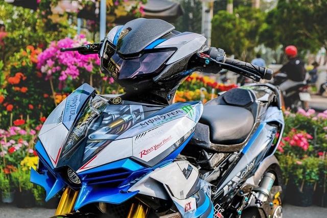Dân chơi Cần Thơ chi 300 triệu lên đời Yamaha Exciter hầm hố - Ảnh 2.