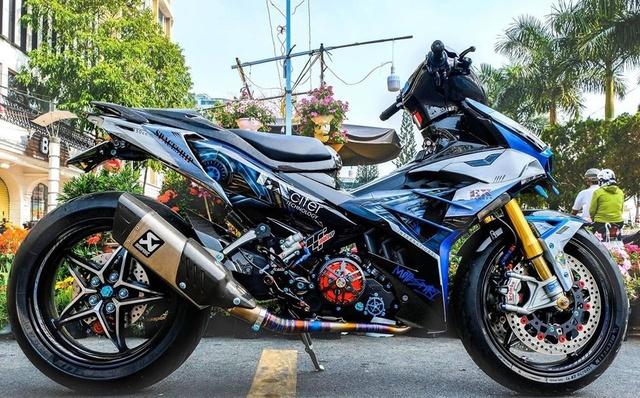 Dân chơi Cần Thơ chi 300 triệu lên đời Yamaha Exciter hầm hố - Ảnh 3.